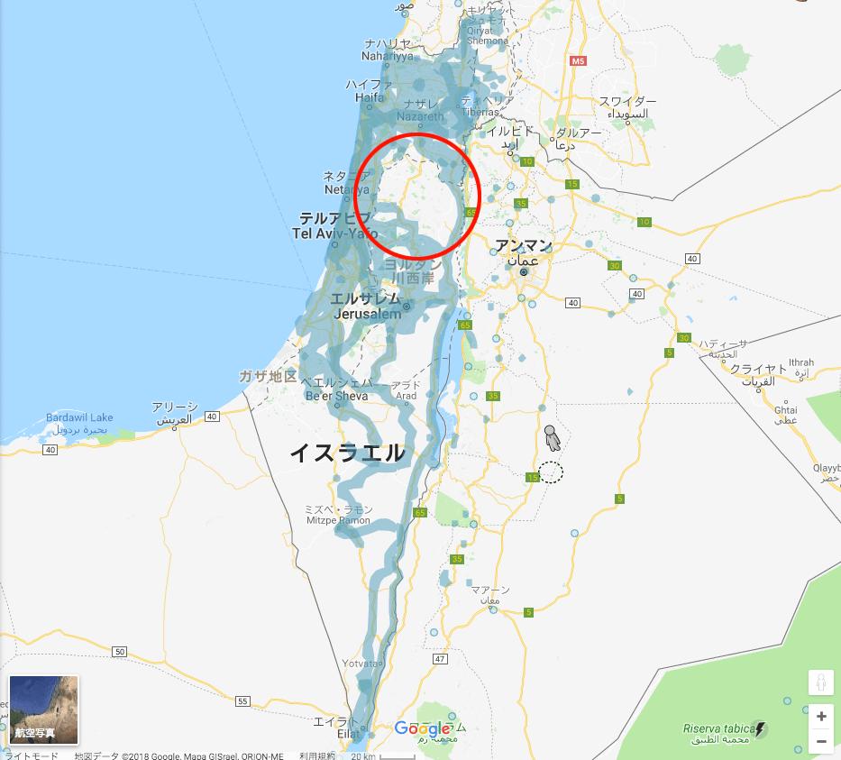イスラエル全土