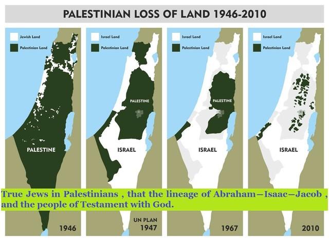 パレスチナ人の住んでるところ